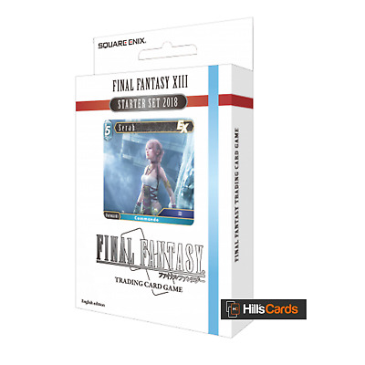 Final Fantasy XIII 13 Starter Set 2018 - 50 Card TCG Starter Deck