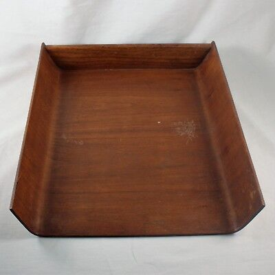 Mid-Century Plywood Tray by Florence Knoll for Knoll Paper Letter Office Table