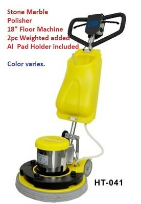 "18"" Stone Marble  Polisher Weighted Floor Machine scrubber Carpet  Cleaning NEW"