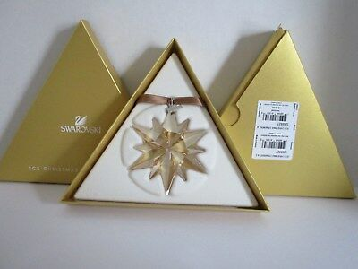 Scs Gold 2017 Annual Edition Large Christmas Ornament Swarovski Crystal  5268827