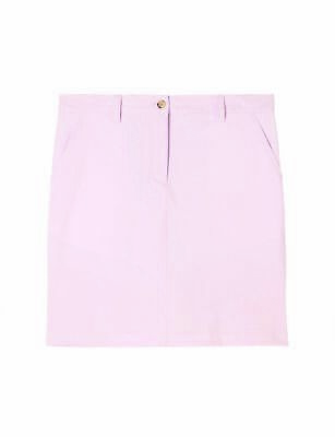J. Lindeberg Allie Skirt Mirco Stretch Rock Damen pink