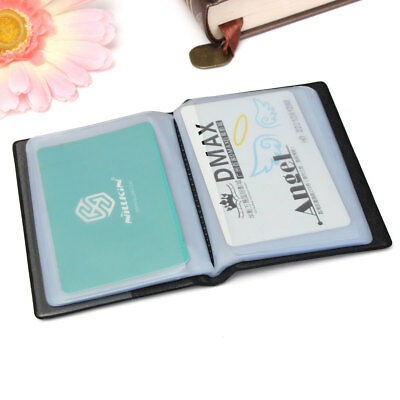 60 Cards Business Name ID Holder Credit Card Travel Book Wallet Folder Organiser