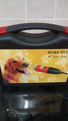 Electric Sure Clip professional dog clippers