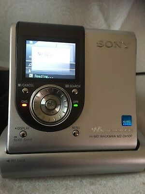 Sony MZ-DH10P Hi-MD Walkman Digital Music Player 1.3 MP Digital Camera
