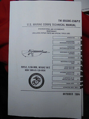 USMC TM 05538C-23&P/2 Armorers Technical Manual