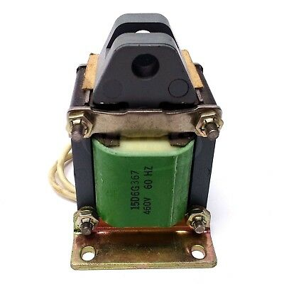 General Electric 9500B102BW81D Solenoid, 460V 60Hz, Pull Type, End Mounting