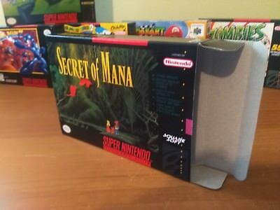 Secret of Mana Box Only, SNES Nintendo Replacement Box/Art Case!!