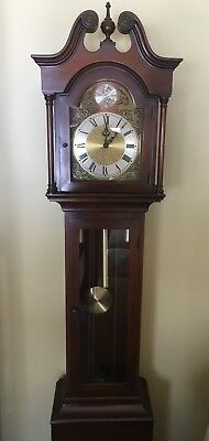 Vintage 1965 Colonial Mfg. Co. Zeeland MI Grandfather Clock. Model number 1688W.