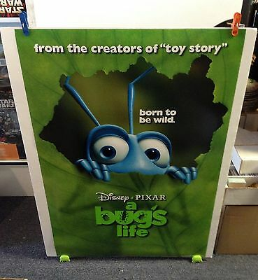 Disney Pixar A BUGS LIFE Movie Poster 27x40 One Sheet **Double Sided