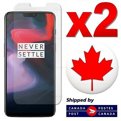 2 PACK Tempered Glass Screen Protector For OnePlus 6T 6 / 5T 5 / 3T 3 / 2 / 1 X