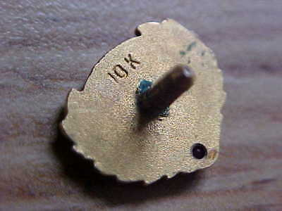 Gold-Gold Service Pin-10 Kt. Gold-Scrap Gold-Tested-2.2 Grams-Scrap