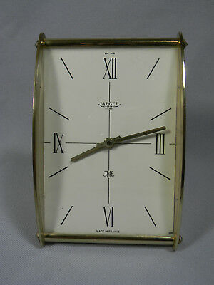 MCM Jaeger Electronic Clock Sold by LeCoultre Fifth Avenue New York