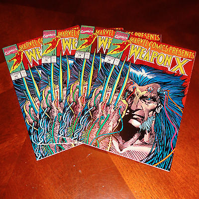 Marvel Comics Presents Wolverine Weapon X #74 VF (Multiple Copies Available)