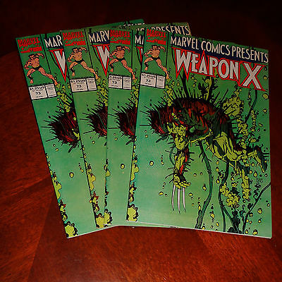 Marvel Comics Presents Wolverine Weapon X #73 VF (Multiple Copies Available)