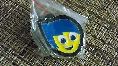 Pin Trading Disney Pins Inside Out Character Booster Set Joy Emotion Pin     769