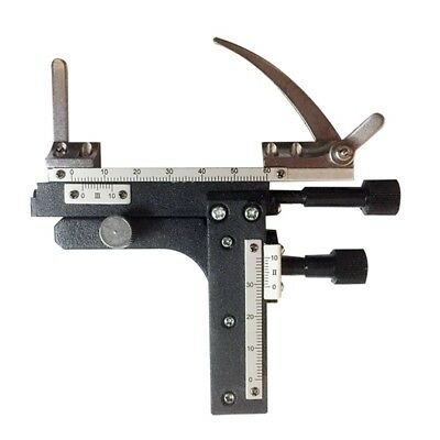 Biological Microscope Parts Attachable Mechanical Stage X-Y Movable Stage Scale