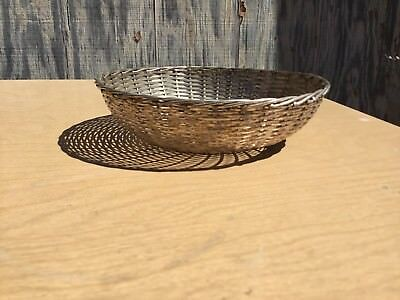 Vintage Silver Plated France Bread Fruit Basket Bowl - Christofle?