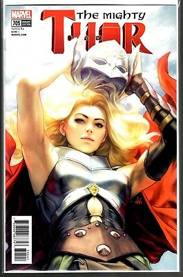 Marvel Comics THE MIGHTY THOR #705 VARIANT STANLEY ARTGERM LAU