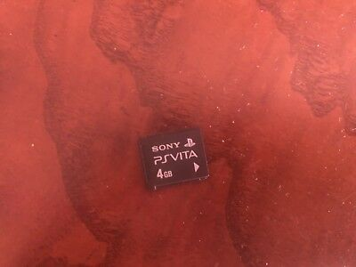 Official PlayStation PS Vita 4GB Memory Card (Mint Condition)