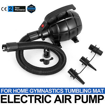 Electric Air Pump For Inflatable Air Track Tumbling Mat Home Gym
