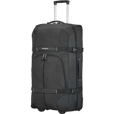 Samsonite Rewind Large 82cm Wheel Duffle Black 75258