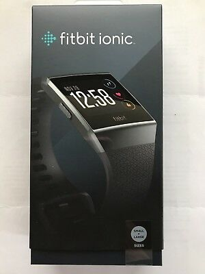Fitbit Ionic Smart Fitness Watch w/extra band - BRAND NEW