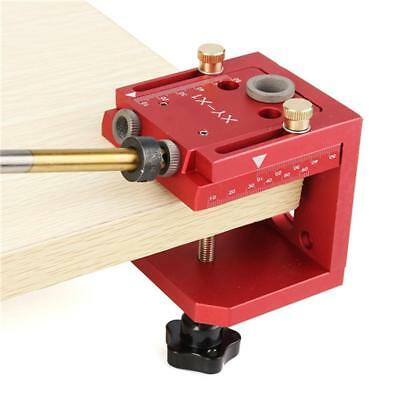 Carpenter Inclined Hole Machine Locator Set Woodworking Drill Guide Puncher Kit