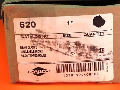 """13- Sepco. Beam Clamps Malleable Iron  Item#620 Size 1"""""""