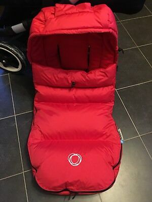 Bugaboo high performance footmuff *RED*