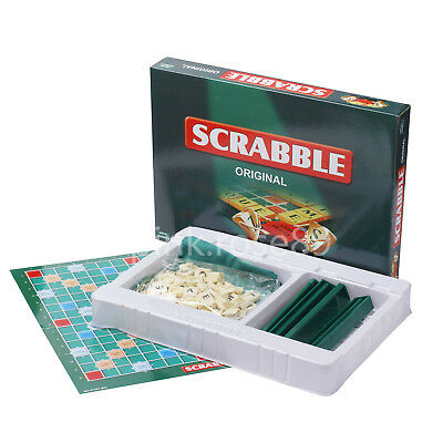 Scrabble Original Board Game Funny Family Games Educational Fun Gifts