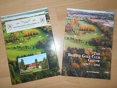 """the British Golf Club 1964 -1994"" 30 J.-Jubiläum Golfclub Gatow"