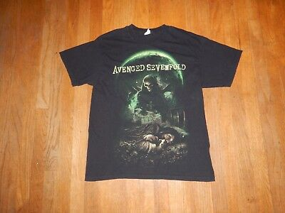 AVENGED SEVENFOLD Nightmare KILLING MOON Official Shirt Size Large A7X