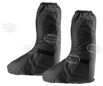 Waterproof Shoe Cover Reusable Anti-slip Rain Boot Motorcycle Overshoe XL