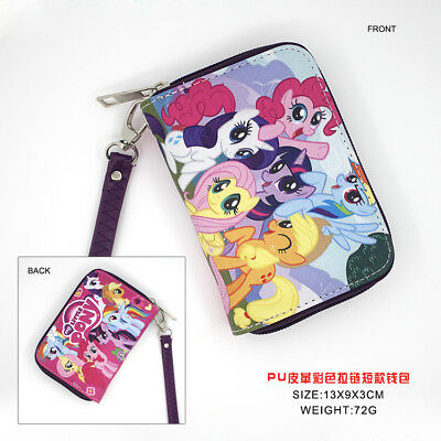 Anime My Little Pony Polyurethan Geldbörse brieftasche PU Purse Wallet