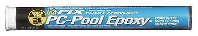 PC-Pool Moldable Epoxy Putty 4 oz Stick Off-White Temporary Crack Repair New
