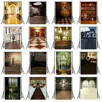 UK Church Wall Photography Backdrop Studio Photo Background Props 3x5ft 5x7ft