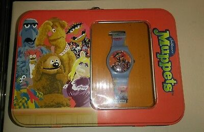 Jim Henson Muppets watch in collector's case