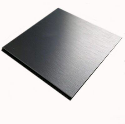 1pcs Nice 304 Stainless Steel Fine Polished Plate Sheet 1*100*100mm