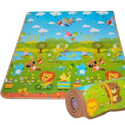 Baby Play Mat Area Rug Foam Floor Gym Indoor Outdoor Travel Nursery Gift New