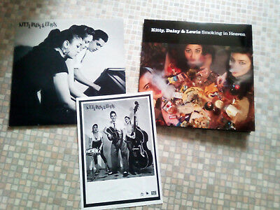 Kitty,Daisy & Lewis,Vinyl,Rockabilly- 2 Lp´s Going up the country