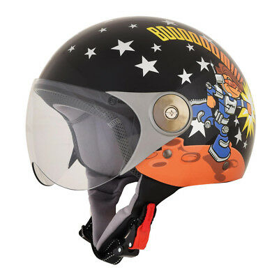 Afx Helmet Fx-33Y Rocket Boy Scooter Small Black Small