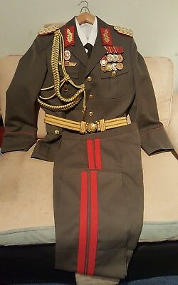 DDR General Major Landstrekräfte  Uniform
