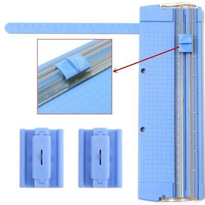 Heavy Duty A4 Photo Paper Guillotine Card Trimmer Office Tool Ruler Q6N0