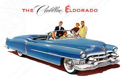 """Cadillac 1953 (5"""" X 7"""") Metal Stand"""