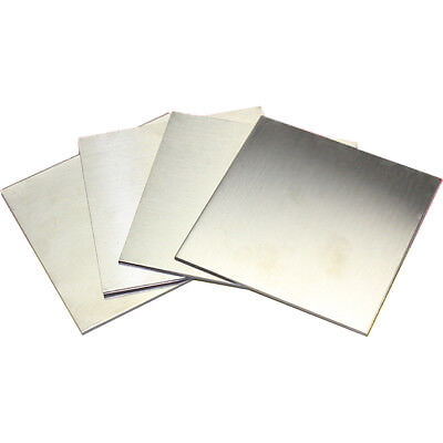 1pcs 304 Stainless Steel Fine Polished Plate Sheet 1*200*200mm