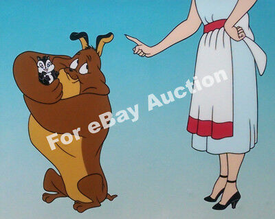 """""""Feed the Kitty"""" Warner Bros. Store Sericel, 1994 Original with COA #321/2500"""