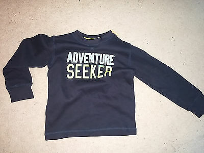 NEW with Tags Gymboree Boy's Adventure Seeker Navy Long Sleeve Pullover 5