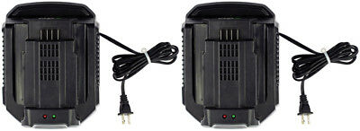 (2-Pack)  - Ego 56-Volt Charger CH2100 - Store returns / no package