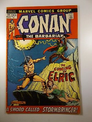 """Conan The Barbarian #14 """"The Coming of Elric!"""" Stormbringer!! Fine Condition!!"""