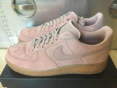 Nike Air Force 1 07 LV8 Suede AF1 Low Particle Pink Men Sz11 Sneakers AA1117 - f53389a4d